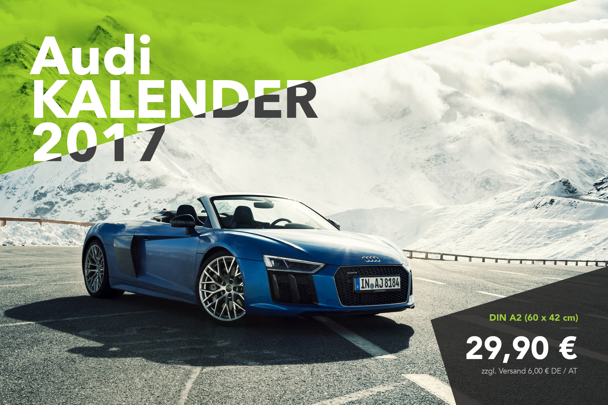 Audi Kalender 2017 - Audi R8