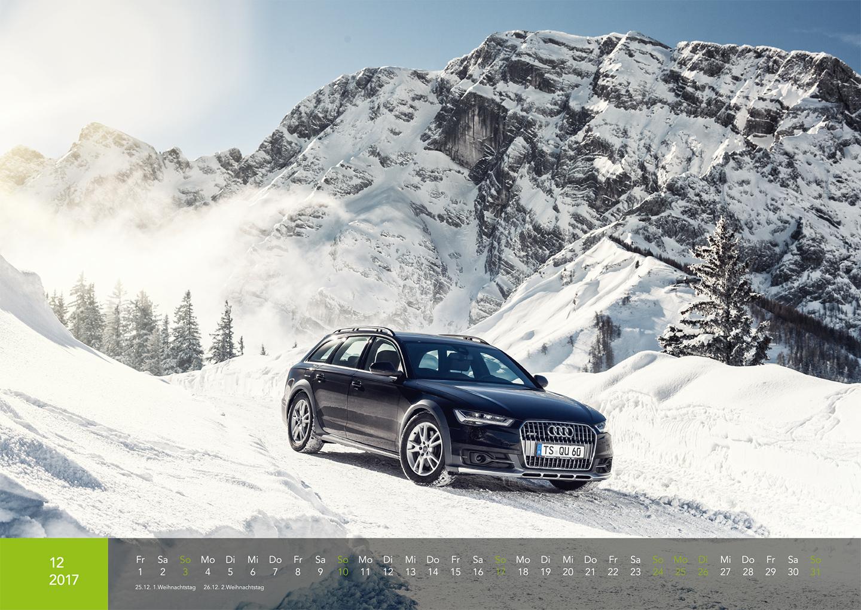 Audi Kalender 2017 - A6 allraod