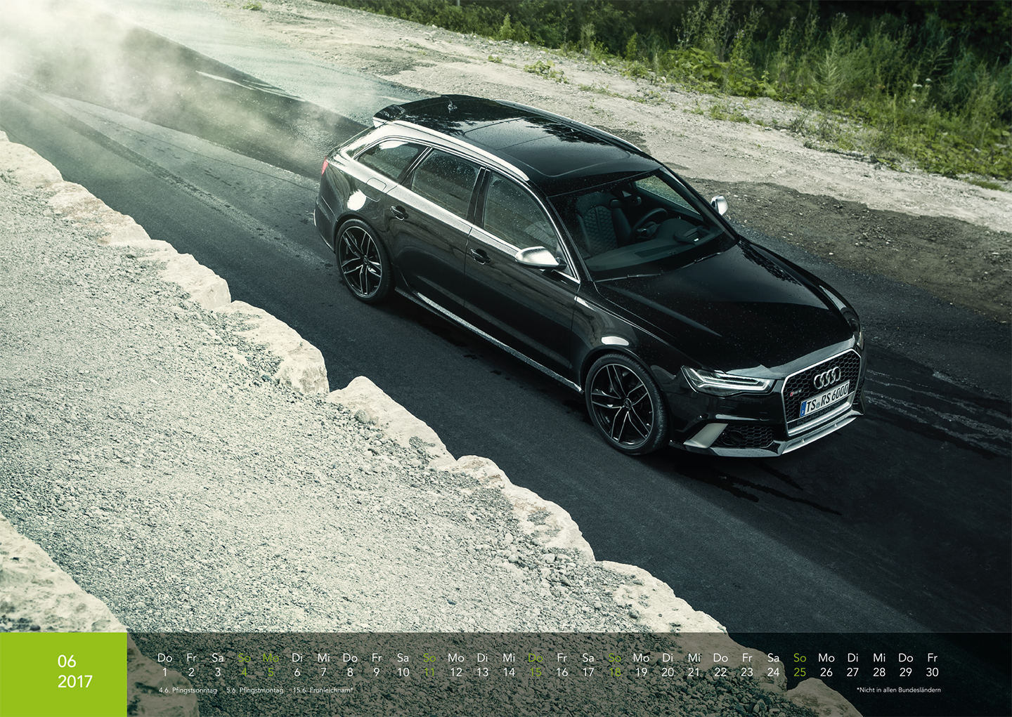 Audi Kalender 2017 - Audi RS6 Performance