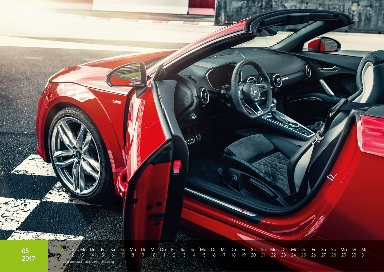 Audi Kalender 2017 - Audi TTS