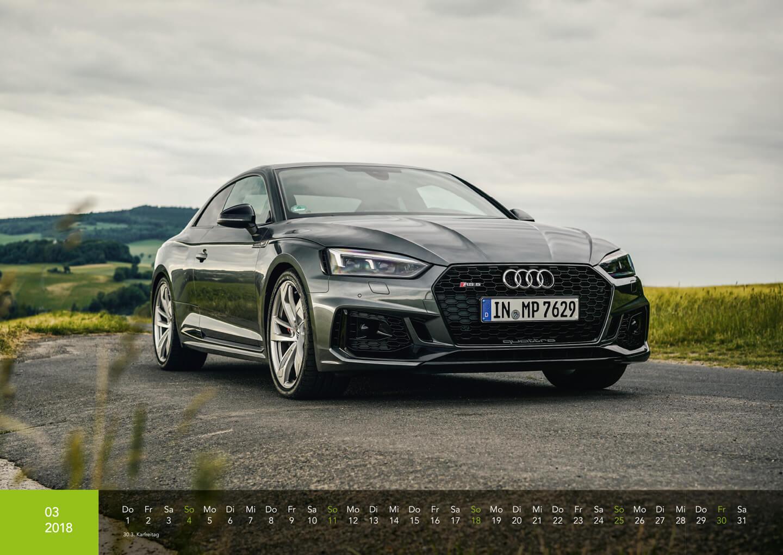Audi Kalender 2018 - Audi RS5