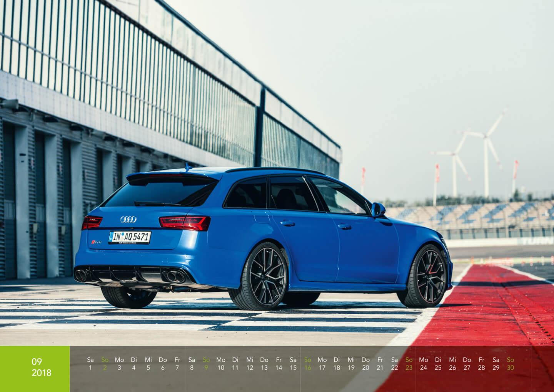 Audi Kalender 2018 - RS6 Performance Nogaro Edition