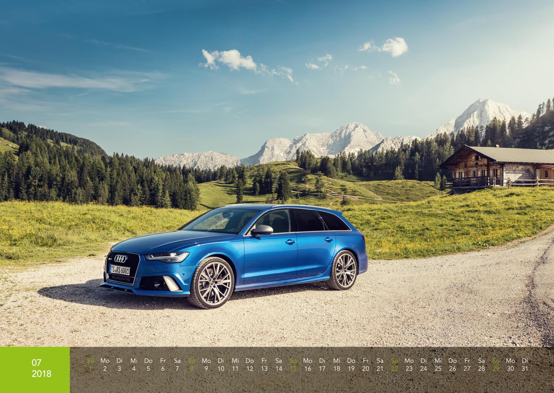 Audi Kalender 2018 - Audi RS6 Performance