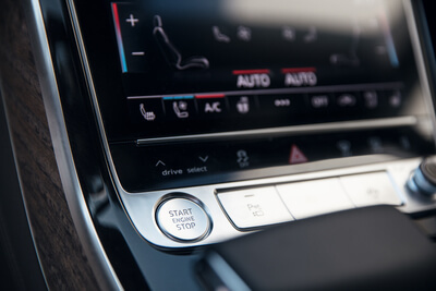 Audi A8 Touch Display