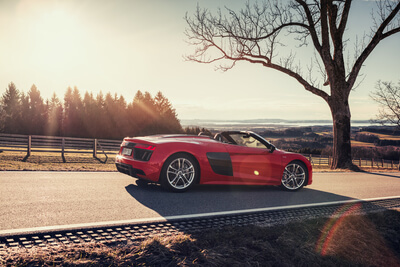 Audi R8 Spyder Roadtrip