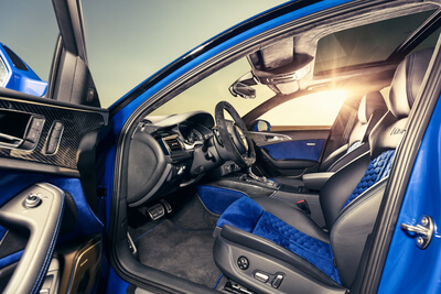 RS6 Avant Nogaro Edition Interior