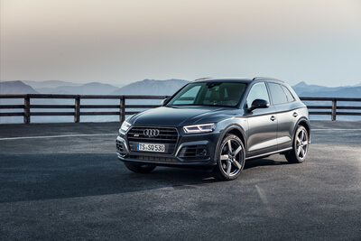 Audi SQ5 Studio Shooting