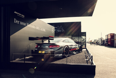 Mercedes AMG Messestand