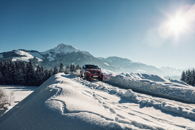 Mercedes Benz Offroad Experience in Kitzbühel