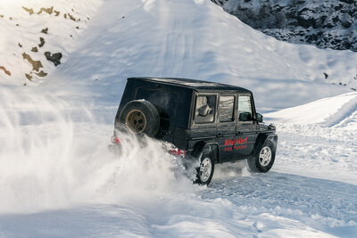 Mercedes Benz G-Klasse - Drift