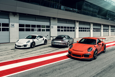 Porsche GT3RS RedBull Ring - Boxengasse